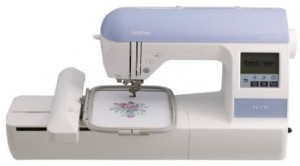 Brother PE770 5 inch x7 inch Embroidery-only machine with built-in memory